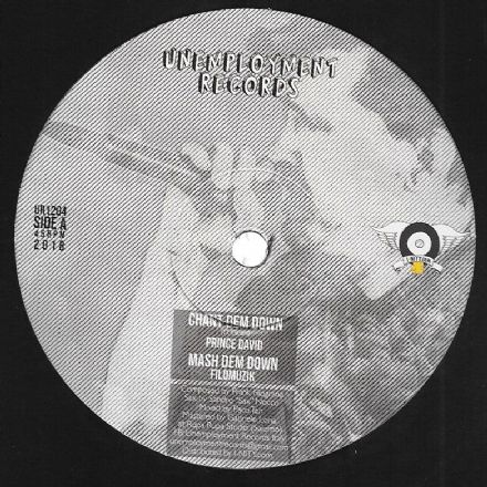 Prince David - Chant Dem Down / Verdiana - Concrete Castle King (Unemployment Records) 12""